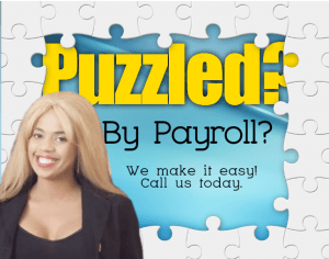 puzzled by payroll